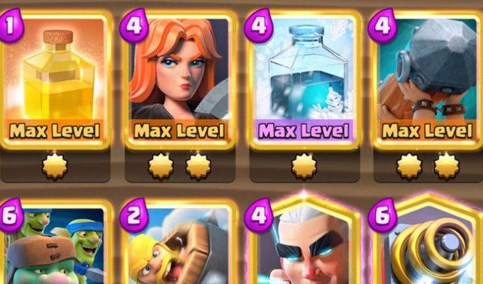 Cómo poner las cartas doradas en Clash Royale