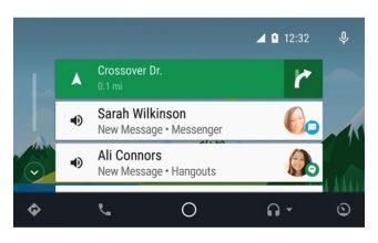 como usar whatsapp con android auto