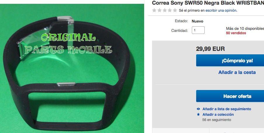 comprar correa smartwatch 3 barata