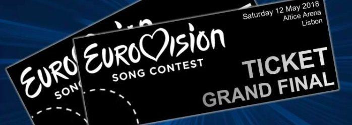 Dónde comprar las entradas para Eurovisión 2018