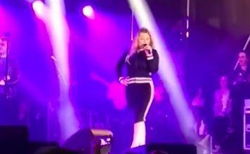 concierto de Amaia Montero borracha viral