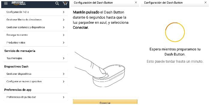 configurar dash button