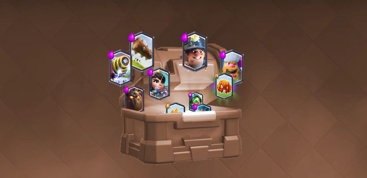 Cómo conseguir cartas legendarias en Clash Royale