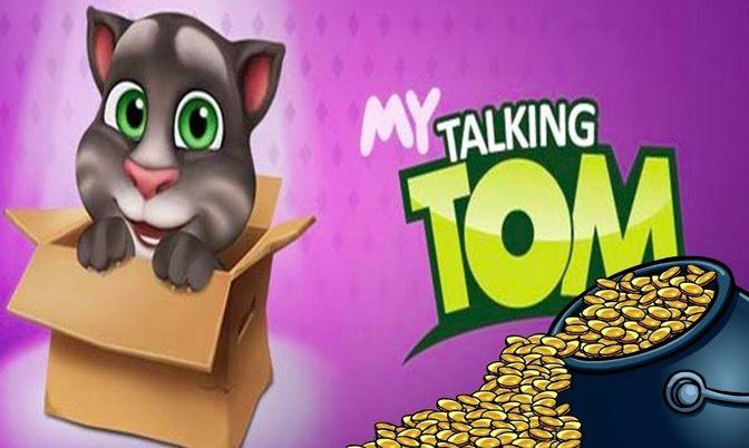 monedas infinitas en My Talking Tom en Android