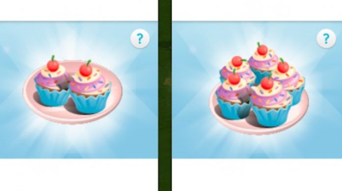 conseguir pastelitos en Los Sims Móvil