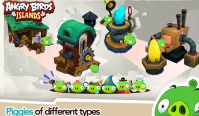 descargar angry birds islands para android