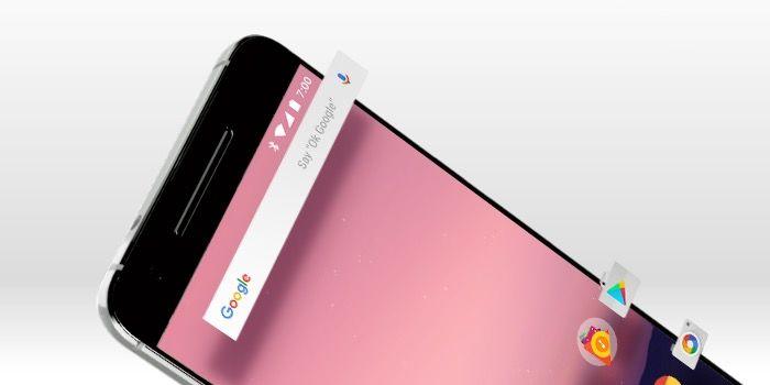 eliminar la barra de Google en Android