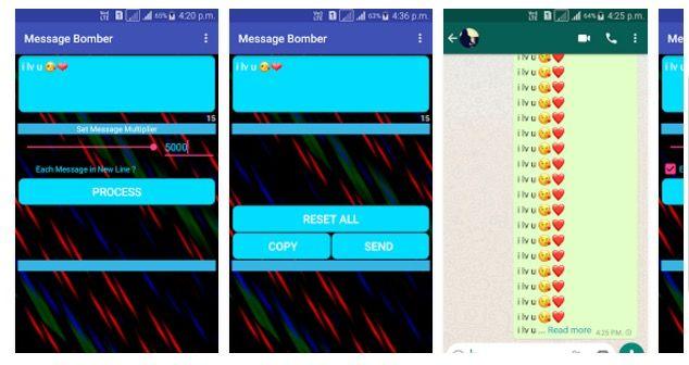 enviar miles de WhatsApp
