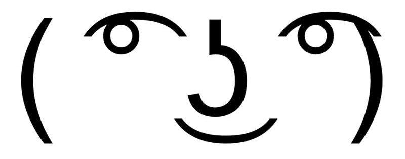 App con emoticonos ASCII para enviar por WhatsApp y Facebook