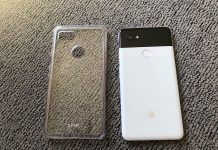 funda transparente Olixar para Pixel 2 XL review