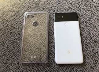 funda transparente Olixar para Pixel 2 XL review