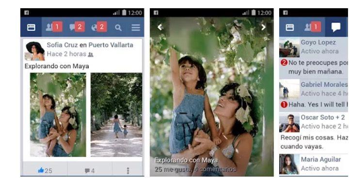hacer que app de facebook pese menos facebook lite
