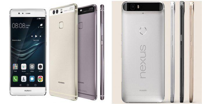 Huawei P9 vs Nexus 6P