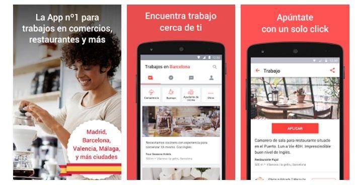 mejores aplicaciones para buscar trabajo en Android