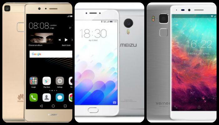 mejores móviles chinos del 2017