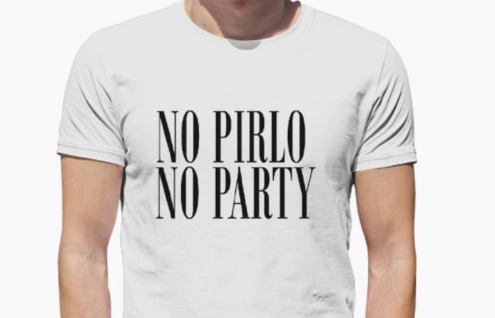 no pirlo no party significado