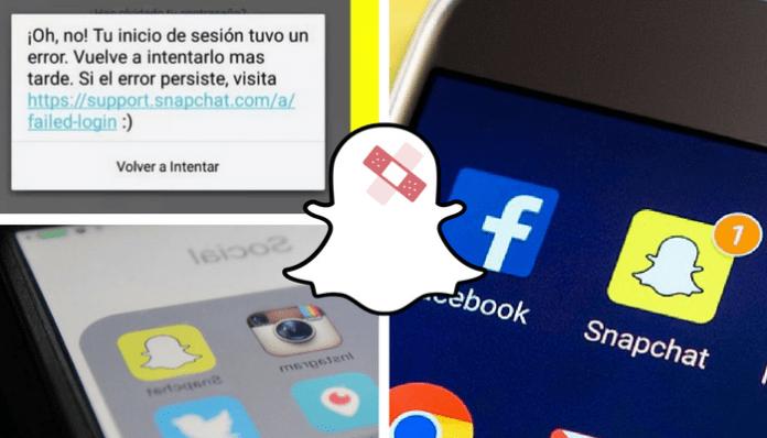 Solución: Error de inicio de sesión en Snapchat solucion