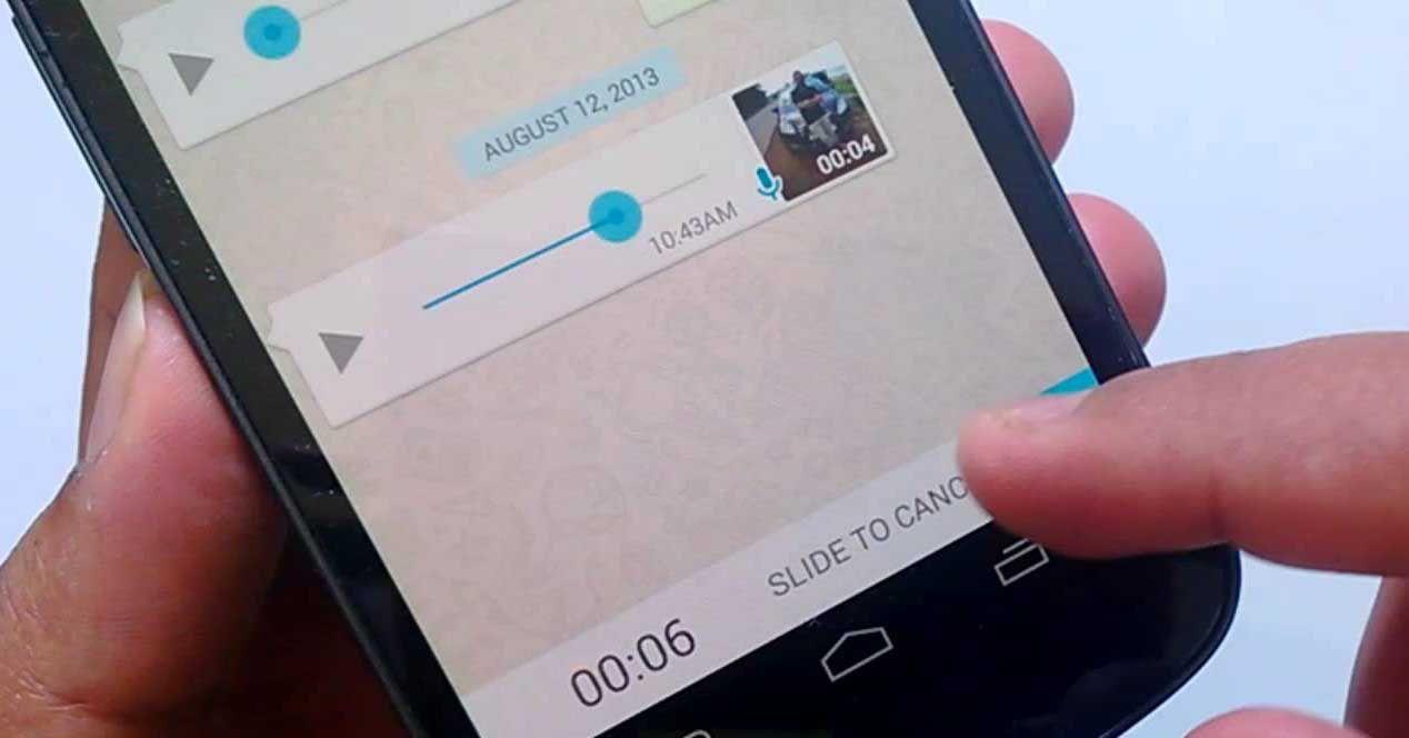 Cómo bloquear notas de voz en WhatsApp