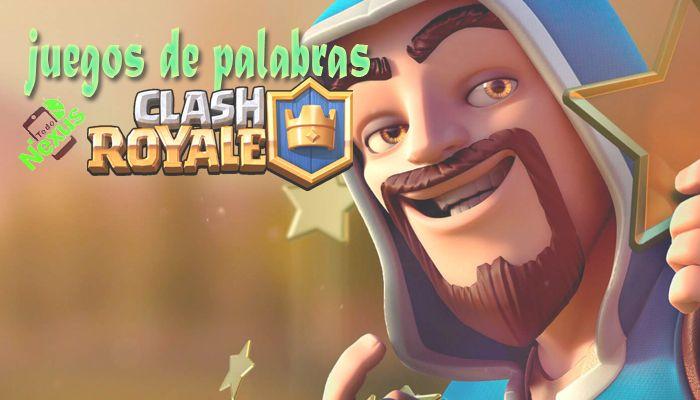 palabras Clash Royale 2018
