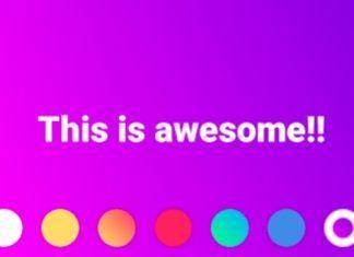 poner estados de colores en Facebook