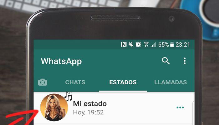 Cómo poner un vídeo de estado en WhatsApp