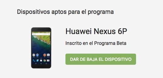 programa betas android 0