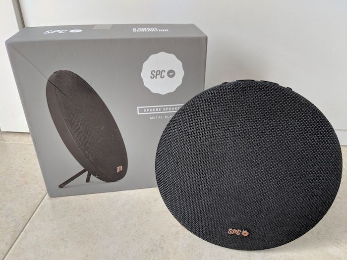 review altavoz bluetooth spc