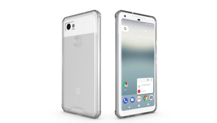 review funda transparente Olixar para Pixel 2 XL