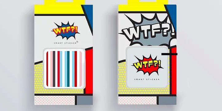smart stickers wtf