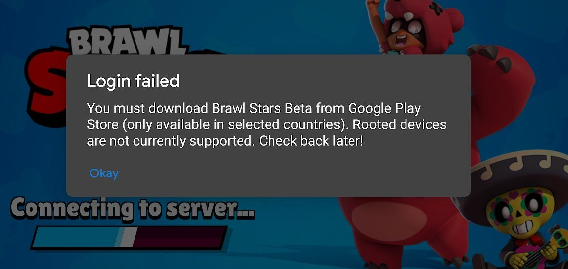 solucionar you must download Brawl Stars beta from Google Play Store (only select countries)
