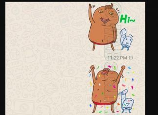 stickers animados en WhatsApp