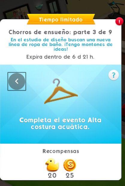 Conseguir patos en Los Sims Móvil