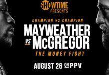 ver Mayweather vs McGregor gratis en España 2017