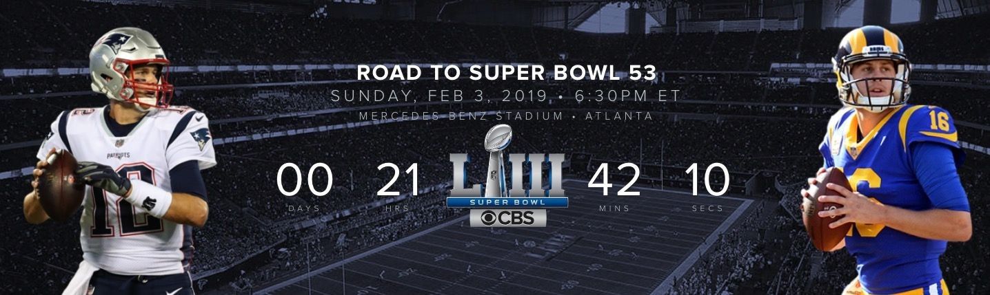 ver Super Bowl 2019 gratis y en vivo por Internet.