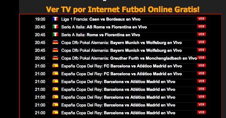 ver barcelona atletico copa del rey online gratis
