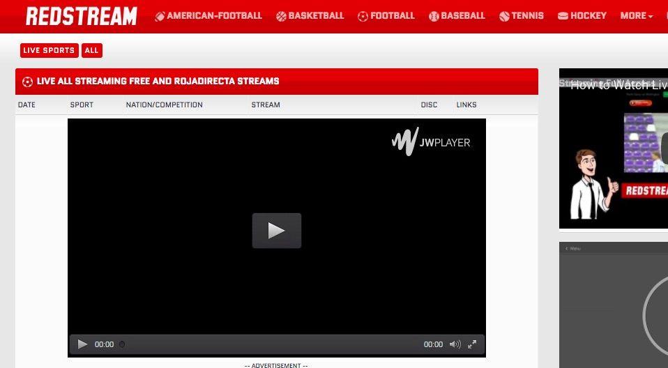 ver futbol online gratis en redstream