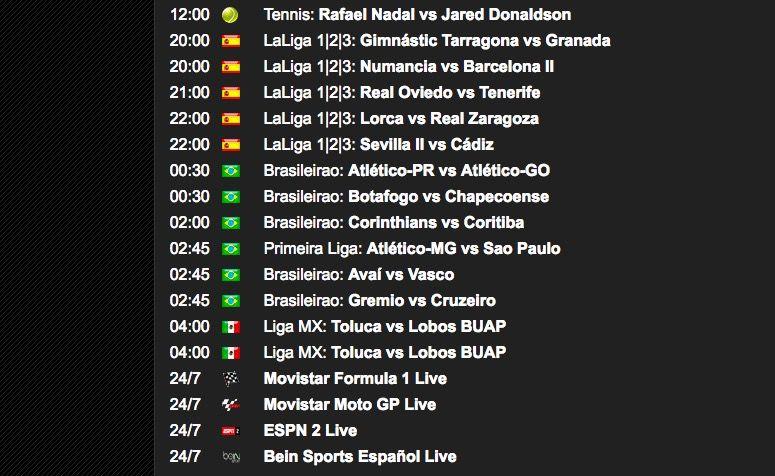 ver las eliminatorias sudamericanas en España