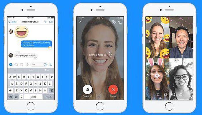 Cómo hacer una videollamada de 3 personas en Facebook