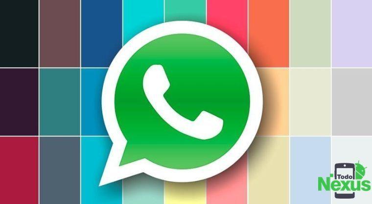 Cómo cambiar el color de WhatsApp sin root