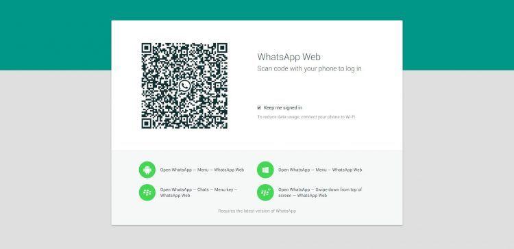 WhatsApp Web no funciona y no carga